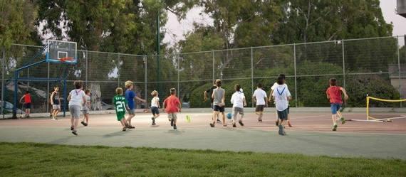 נחנך מגרש  ספורט בכפר יהושע