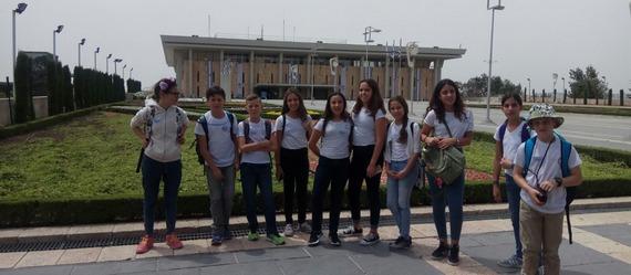 """תלמידי בי""""ס 'מרחבים' מתנגדים לשדה תעופה ברמת דוד"""