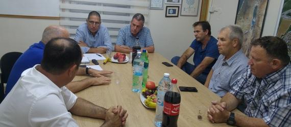 ראשי הרשויות באזור הקימו ועדת היגוי