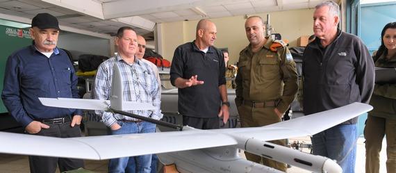 אלוף פיקוד העורף, תמיר ידעי, ביקר בעמק יזרעאל והתרשם מהמוכנות לחירום
