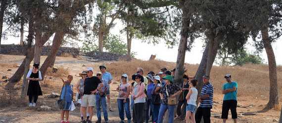 הסתיימה עונת החפירות הראשונה בתל שמרון