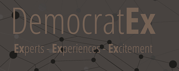 Democratex לוגו