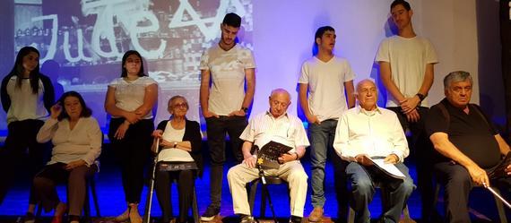 לזכור ולעולם לא לשכוח! טקסי יום השואה בבתי הספר 'עמקים תבור' ו'אופקים' מרחביה התקיימו בהשתתפות ניצולי שואה