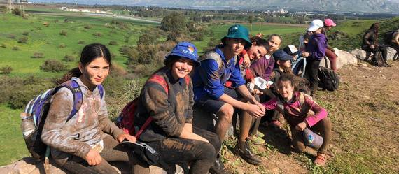 כ- 1500 ילדים ובני נוער יצאו לטיול הבוץ המסורתי של מחלקת הנוער
