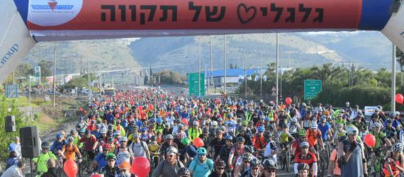 """""""גלגלים של תקווה""""- אלפים השתתפו באירוע הרכיבה המסורתי שהתקיים בשבת האחרונה"""