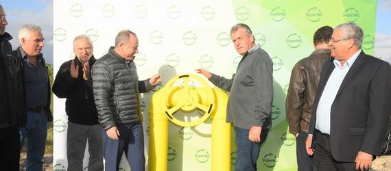 היסטוריה בעמק - 6 מפעלים באזור התעשייה אלון תבור חוברו לגז הטבעי