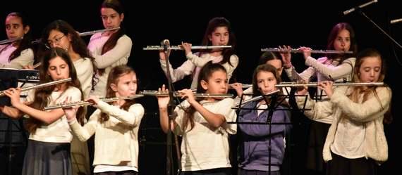 נגני העמק הצעירים מציגים - כנס תזמורות בתי הספר