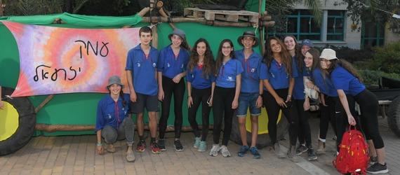 כ-2200 בני נוער השתתפו בטקס פתיחת שנה -  נוער עמק יזרעאל