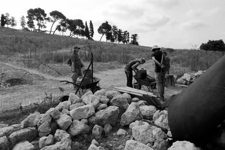 סיכום עונת החפירות בתל שמרון
