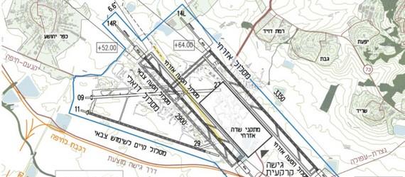 """משמעות החלטות וועדת העורכים של שדה התעופה- הפקעת 14,000 דונם להקמת שדה תעופה משלים לנתב""""ג בעמק יזרעאל"""
