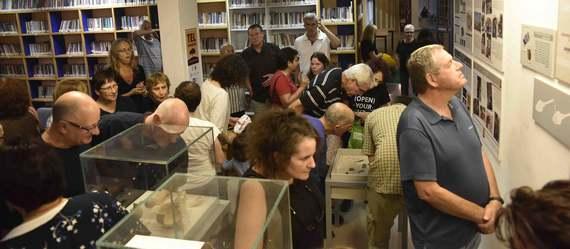 תערוכת הקבע של ממצאי החפירות הארכיאולוגיות נפתחה בתמרת