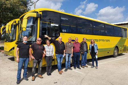 אוטובוסים צהובים חדשים